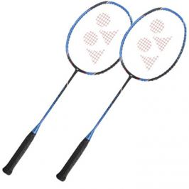 Set 2 ks bedmintonových raket Yonex Voltric FB Black/Blue