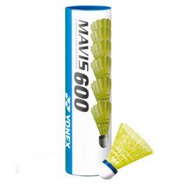 Bedmintonové košíky Yonex Mavis 600 Yellow (dóza po 6 ks)