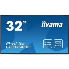 32'' LCD iiyama ProLite LE3240S-B1 -FullHD, IPS, 8ms, 350cd, USB 2.0 media player, RJ45, RS232C,repro